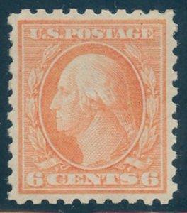 US Scott #429 Mint, XF, Hinged