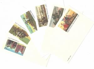 U. S. Postal Stationery Cards UX 77 78 85 94 95 116 Lot of 6 Mint