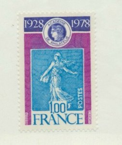 France Scott #1617, Academy of Philately Issue From 1978