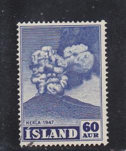 Iceland  Scott#  250  Used