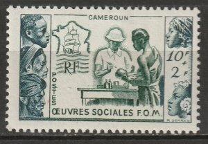 Cameroun 1950 Sc B29 Yt 295 MH*