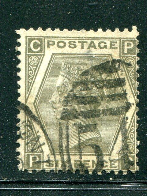 Great Britain #60 Pl #12 used F-VF  cat $250