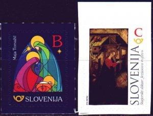 Slovenia. 2017. 1269-70. Christmas. MNH.