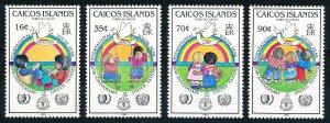 Caicos Islands #65-68  Set of 4 MNH