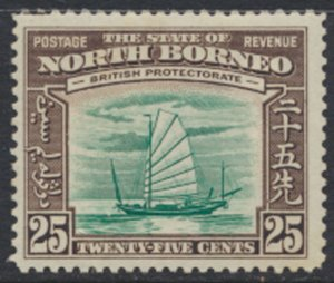 North Borneo  SG 313 SC# 203 MLH   - See scans and details
