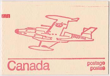 Canada Counter USC #BK74a - 1974 Caricature Booklet - DF VF-NH