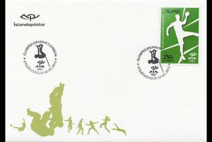 2012   ICELAND  -  SG: 1360 - SUMMER OLYMPICS, LONDON - FIRST DAY COVER