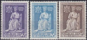 Ireland #142-4  F-VF Unused CV $21.25  Z1016