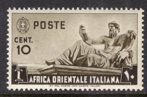 Italian East Africa 4 MNH VF