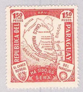 Paraguay 324 MLH Map Gran Chaco (BP1929)