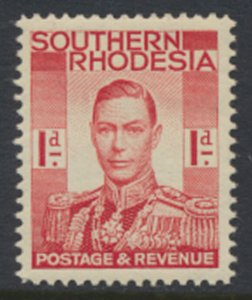 Southern Rhodesia  SG 41  SC# 43 Mint Never Hinged  see scans