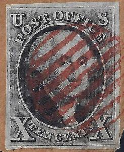 U.S. 2 1847 On Cover (113017)