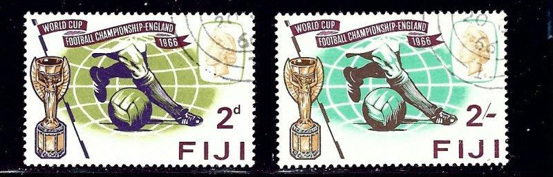Fiji 219-20 CTO 1966 Soccer    (ap1763)