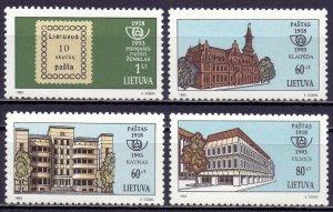 Lithuania. 1993. 540-43. Postage stamps. MNH.
