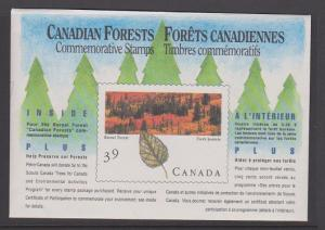 CANADA SOUV.MINIATURE PANE OF 4 STAMPS#1286a LOT#8