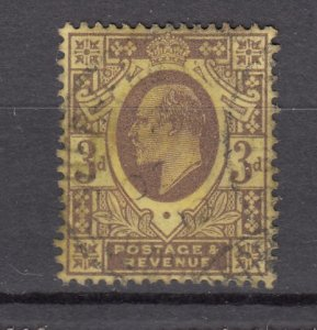 J27542 1902-11 great britain used #132 king