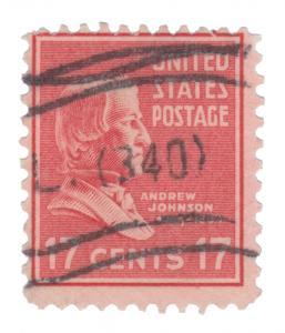 UNITED STATES 1938 STAMP. SCOTT # 822. USED.