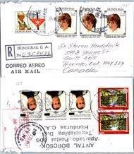 Honduras, Registered, Royalty