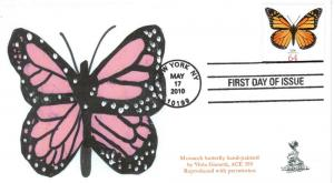 Monarch Butterfly First Day Cover, from Toad Hall Covers!