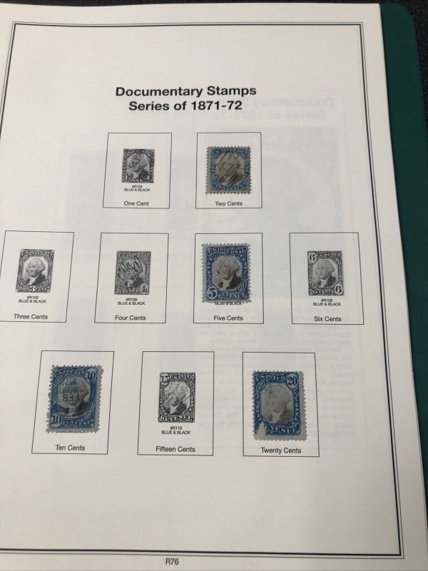 US BOB Collection; Ducks Mint & Used, Officials, Revenues, Postage Due Etc.