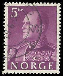 Norway - 373 - Used - SCV-0.25