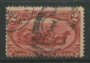 STAMP STATION PERTH USA #286 Trans Mississippi Expo 1898 Used CV$3.00.
