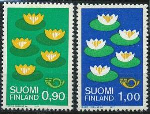 Finland 593-594 MNH (1977)