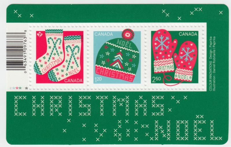 Canada -  *NEW* CHRISTMAS Warm and Cozy, 2018 Souvenir Sheet - MNH