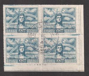 BRAZIL SC# 631 VF U 1945 BK/4