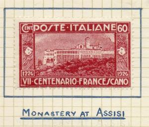 Italy 1926 Early Issue Fine Mint Hinged 60c. 298774