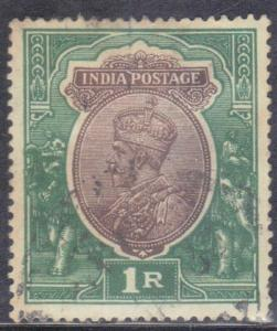 INDIA SC # 93 **USED** 1911-23  GEORGE V SEE SCAN