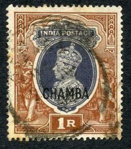 Chamba SG1021r opt CHAMBA (only) used (stain bottom right) Cat 85 pounds