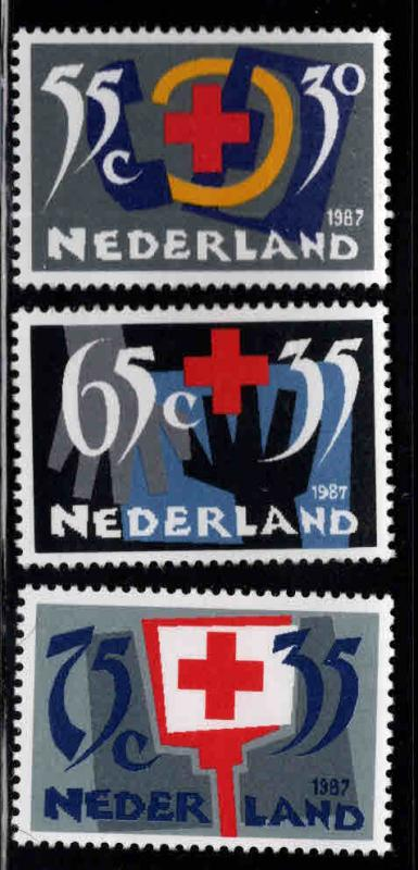 Netherlands Scott B629-B631 MNH**  1987 Red Cross set