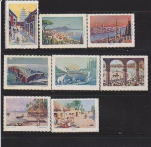 CINDERELLA STAMPS  ON CITY OF THE WORLD  (8)   LOT#C-166