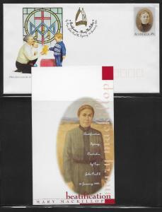 Australia Postal Stationary PSE238 Mary MacKillop Beatification Mint