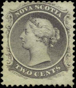 Canada, Nova Scotia  Scott #9 Mint No Gum