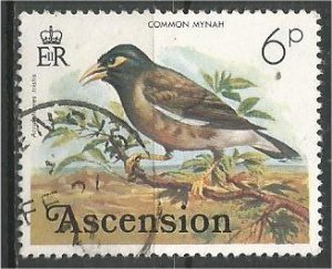 ASCENSION, 1976, used 6p,WHO Headquarters Scott 201