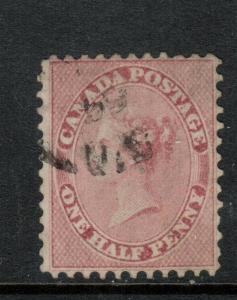 Canada #11 Very Fine Used With Date Stamp
