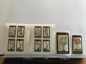 Staffa Scotland plant flowers Corn Flag mint never hinged stamps  R25299