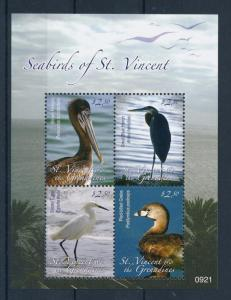 [33077] St. Vincent & Grenadines 2009 Birds Vögel Oiseaux Ucelli   MNH Sheet