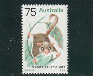 Australia  Scott#  572  MNH  (1974 Feather-Tailed Glider)