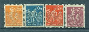Germany sc# 221-234 mh cat value $3.65