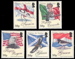 Tristan da Cunha 2010 Scott #910-914 Mint Never Hinged