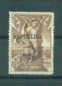 Azores sc# 145 mh cat value $1.90