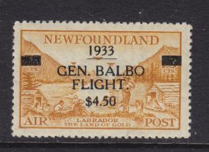 Newfoundland Scott # C18 VF OG mint never hinged scv $ 500 ! see pic !
