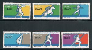 Mexico 1351-1356 Mint VF NH
