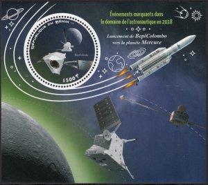 BENIN 2018 SPACE BEPI COLOMBO ESPACE RAUMFAHRT SPAZIO [#1873]