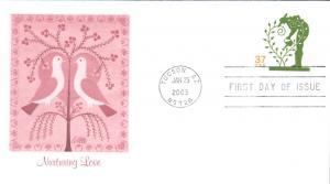 #U651 Nurturing Love Fleetwood FDC