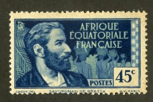 FRENCH EQUATORIAL AFRICA 46 MH SCV $4.75 BIN $2.00 PERSON