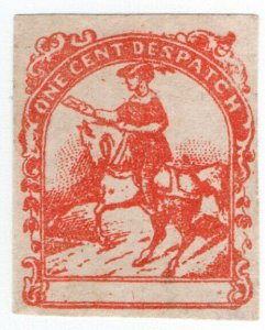 (I.B) US Local Post : One Cent Despatch